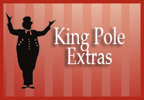 King Pole Extras