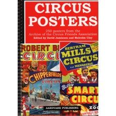 Circus Posters - Ring bound Book