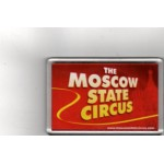 The Moscow State Circus Fridge Magnet