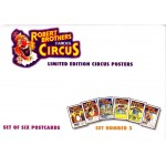 Robert Brothers Famous Circus Postcards Set3