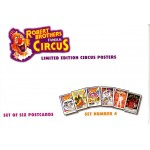 Robert Brothers Famous Circus Postcards Set 4