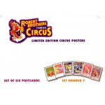 Robert Brothers Famous Circus Postcards Set 7