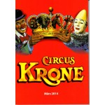 Circus Krone Programme March 2014